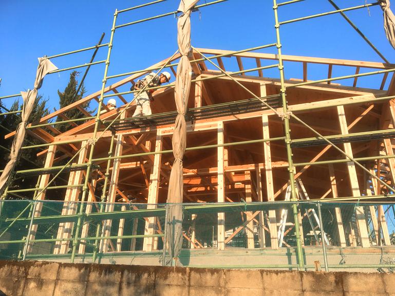 鹿児島市春日町構造見学会の画像